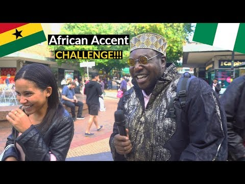 Can You Speak African ? - (Coventry) Ep. 2 (Accent Challenge)