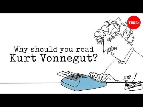 Video image: Why should you read Kurt Vonnegut? - Mia Nacamulli