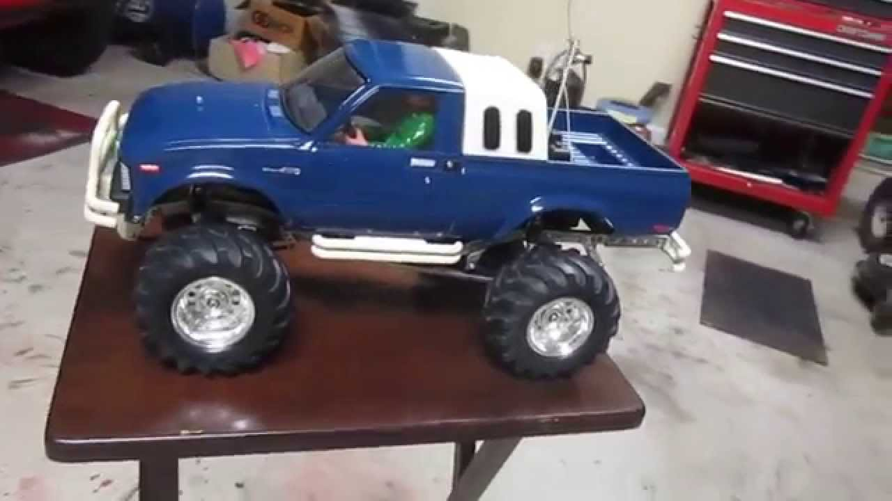 Vintage Tamiya Bruiser For Sale 3 Speed Toyota 4x4 pickup truck rc ...