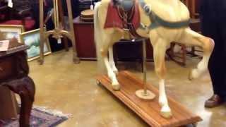 Antique D. C. Muller & Bro. Carousel Horse