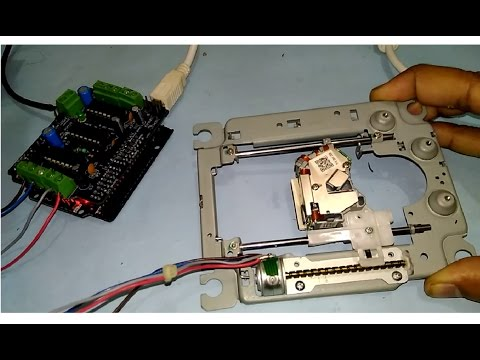 How To Read A Wiring Diagram Whirlpool Gas Water Heater Take Out Dvd Drive Stepper Motor Mechanism + Test Run - Youtube