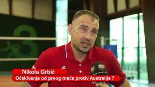 Izjava Nikole Grbića Pred Početak Kvalifikacija za Olimpijske Igre | SPORT KLUB ODBOJKA