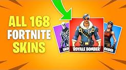 ALL 168 Fortnite Battle Royale Skins