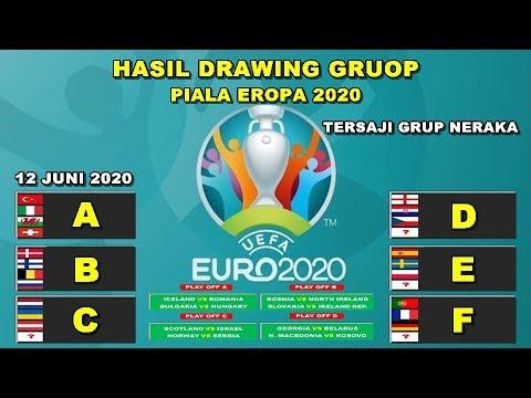 Hasil Drawing Grup Piala Eropa 2020 | DRAWING UEFA EURO 2020