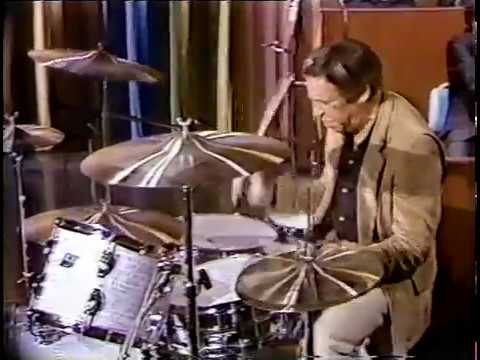 Buddy Rich rare Wind Machine on Johnny Carson Tonight Show 1979 with solo . timeless!!  tireless!!!!