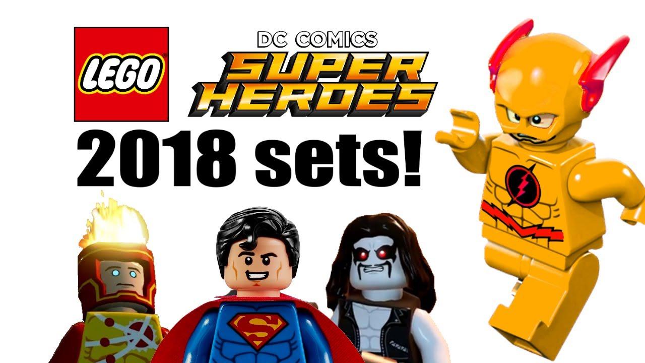 LEGO DC Super Heroes 2018 sets list! - YouTube