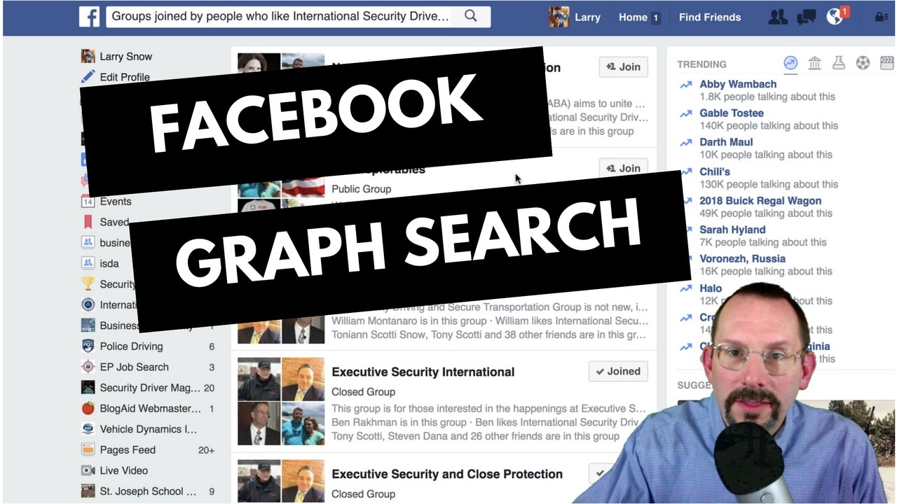 How to Use Facebook Graph Search