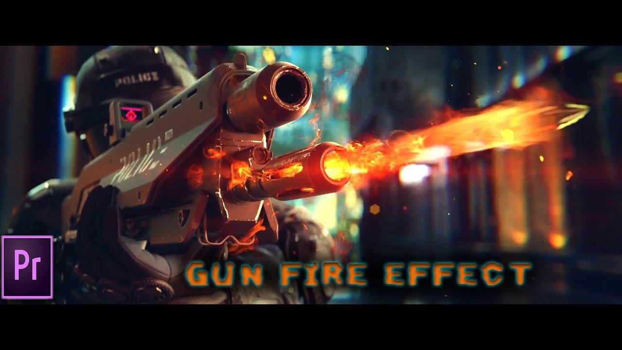 how to make gun fire effects