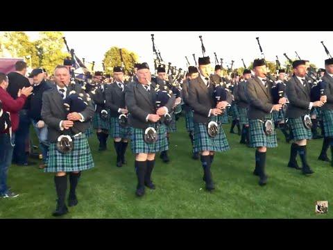 Inveraray & District Pipe Band - Grade 1 World Champions 2017 - March Off