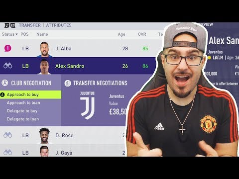 HOLY SH*T WE SIGNED A BEAST! - FIFA 18 Career mode Manchester United #02