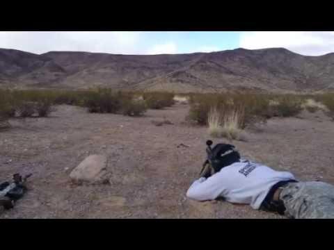 Remington 700 SPS 600 yd shot