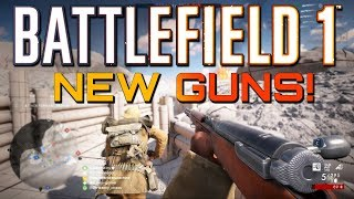 Battlefield 1: New Guns! Turning Tides DLC (PS4 PRO Multiplayer Gameplay CTE)