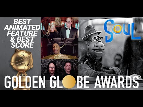 Pixar Soul Best Animated Feature and Best Score Acceptance Speeches at the 2021 Golden Globes