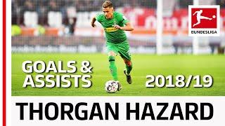 Thorgan Hazard - All Goals and Assists 2018/19