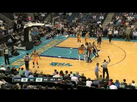 New Orleans Hornets & Utah Jazz / 02.11.2012 / Highlights