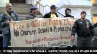 Solidarity for Puerto Rico & US Free Public Schools