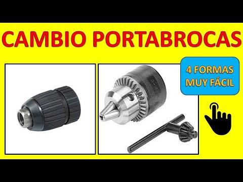 ✅✅✅ CAMBIO DE PORTABROCAS, CHUCK O BROQUERO DE TALADRO BATERÍA Y ELÉCTRICO, VARIAS FORMAS 2021
