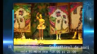 Promo. Baletul pe Gheata din St Petersburg-Rusia.Turneul National 15-19 ianuarie 2013 .avi