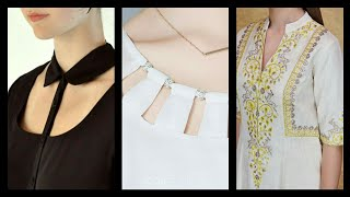 Top Class stunning neck design get awesome ideas for your dresses