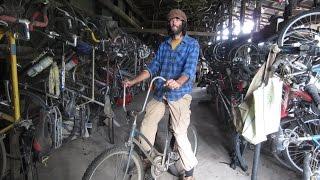 Bike World at Dancing Rabbit ecovillage!