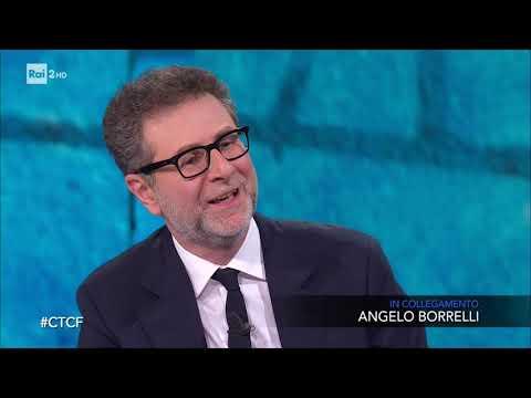 Roberto Burioni, Angelo Borrelli e Piero Angela - Che tempo che fa 01/03/2020