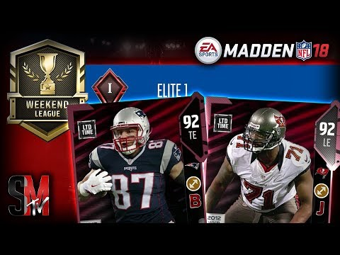 25-0 WEEKEND LEAGUE REWARDS! NEW LIMITED TIME PLAYERS - MADDEN NFL 18 PACK OPENING