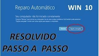 Windows 10 não inicia - Resolvido passo a passo (Setembro 2017)