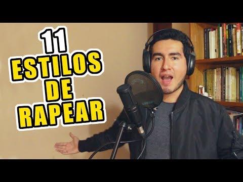 11 ESTILOS DE RAPEAR | HBD