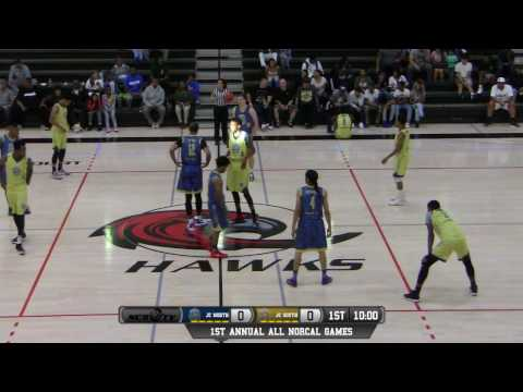 ALL NORCAL GAMES Men's JC North vs Men's JC South All-Star Game LIVE 4/2/17