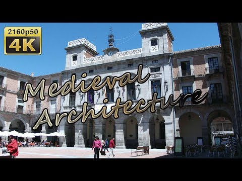 Avila, City Center -  Spain 4K Travel Channel