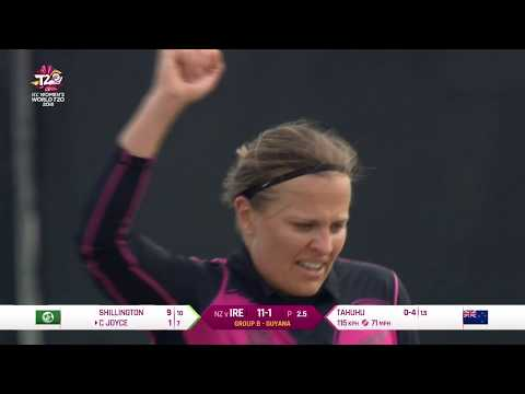 New Zealand v Ireland - Women's World T20 2018 highlights