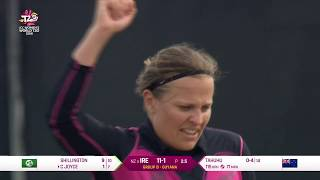 New Zealand v Ireland - Women's World T20 2018 hig...