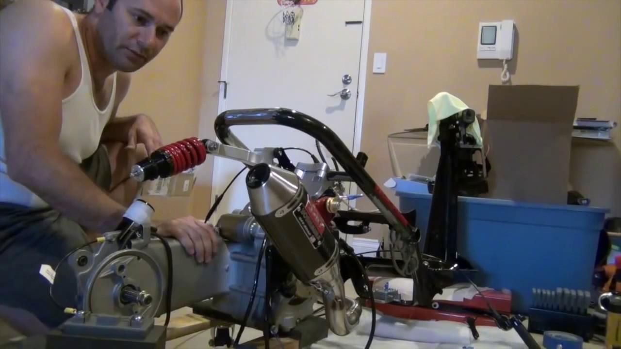 Ремонт скутера Fada/Viper 150 Разбор двигателя 157QMJ Ч-2.1 - YouTube