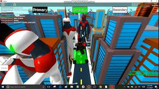 Roblox Ben 10 Arrival Of Aliens Security Guard James