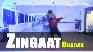 Zingaat Hindi - Dhadak | Dance choreography | GunRush