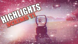 PUBGM: HIGHLIGHTS SCRIMS T1 TRAINING PMCO