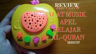 Gambar cover Review Aple learning Al-Qur'an - ALAT MUSIK APEL BELAJAR AL-QUR'AN SUCI - MAINAN EDUKASI ANAK