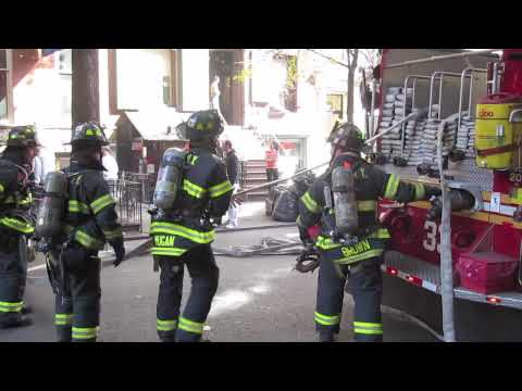 Fire in New York City [HD] [WideScreen]