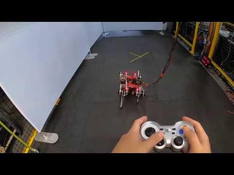 Google lär robotar att gå Tar bara några timmar för roboten att promenera i väg på egen hand