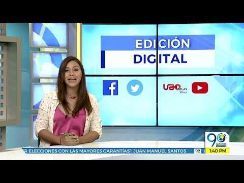 Emisión Digital Noticiero 90 Minutos miércoles 10 de octubre de 2018