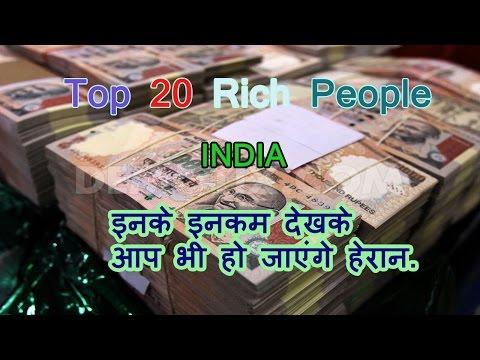 Top 20 Richest Indian 2016.