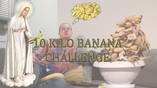 10KG BANANA CHALLENGE - MAXIMUM CONSUMED IN ONE DAY!