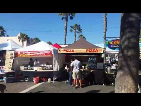 Oceanside California Sunset Market
