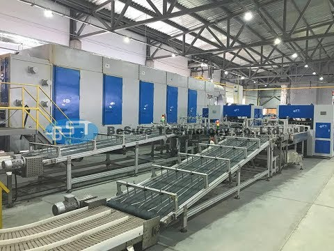 BST Fully Automatic Equipment 4 Face Rotary Egg Carton Machine