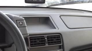 test drive Citroen BX 1987 December 2012