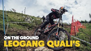 Here's what went down in Leogang DH Qualifications   UCI MTB World Cup 2021