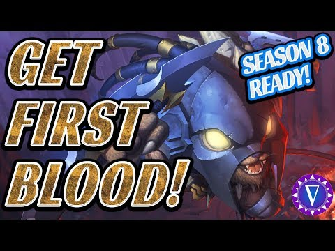 How To Get First Blood! And Other Early Game Jungle Tips!