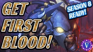 How To Get First Blood! (And Other Early Game Jungle Tips!)