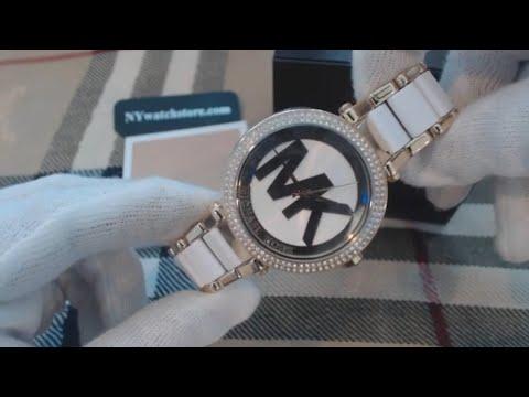 Women's Michael Kors Parker Crystalized Acetate Watch MK6313