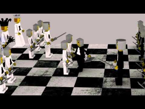 Lego Chess Game